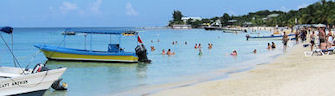Beach on Roatan